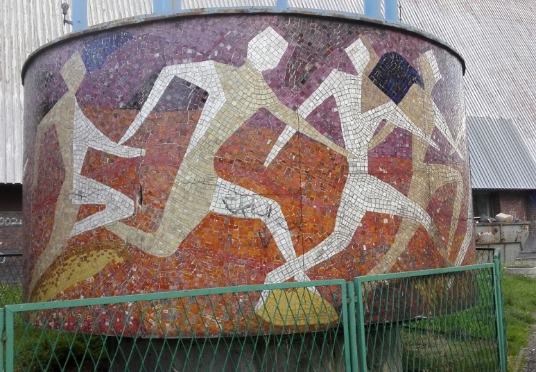 mozaika stadion slaski chorzow